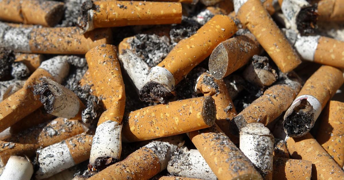 окурки, сигареты