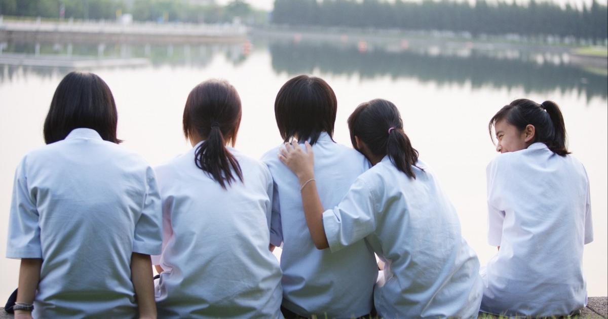 тайцы, тайские школьники, в Таиланде
