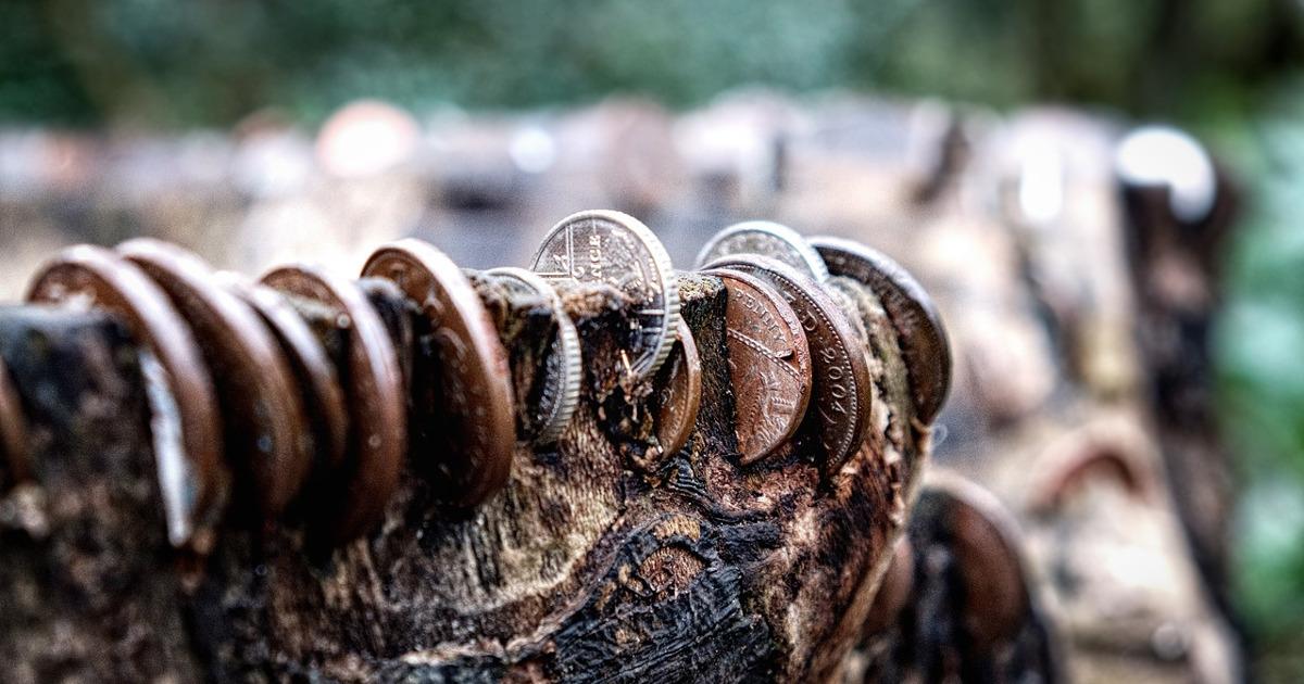 Жадность, деньги, монеты
