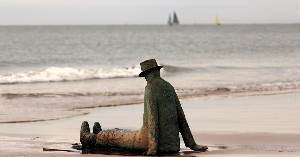 скульптура, мужчина
