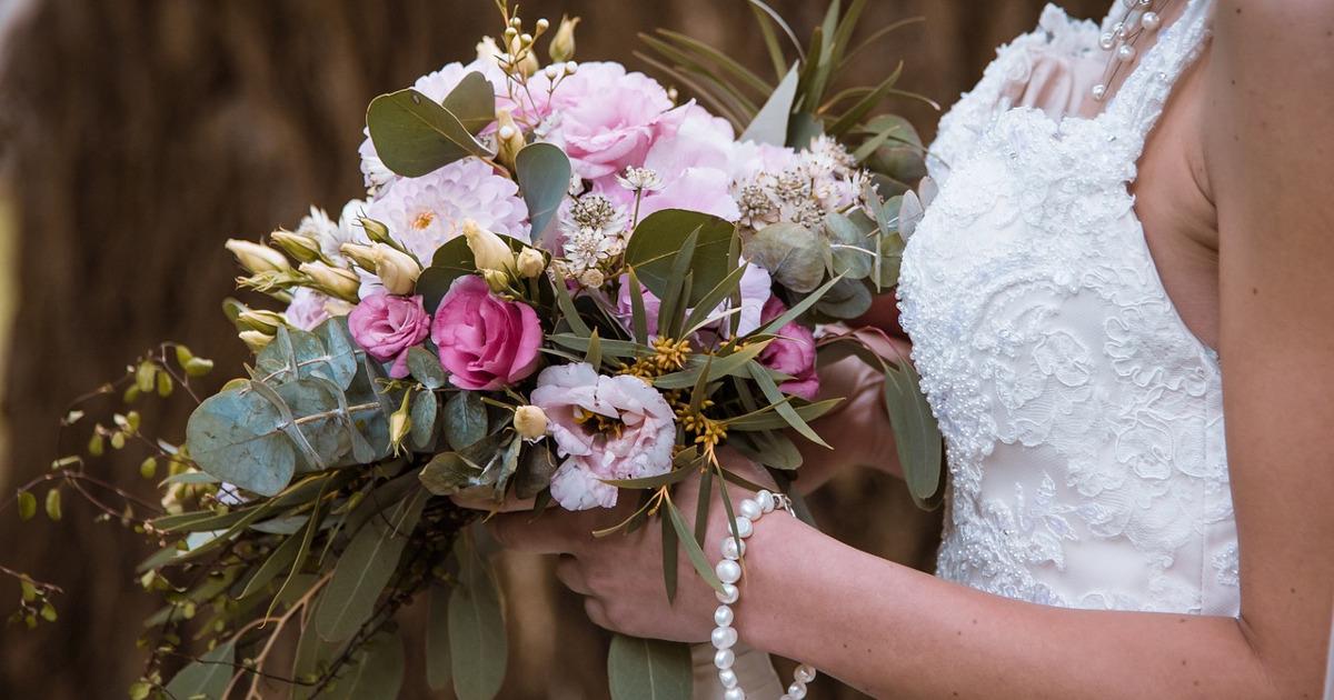 невеста, букет невесты