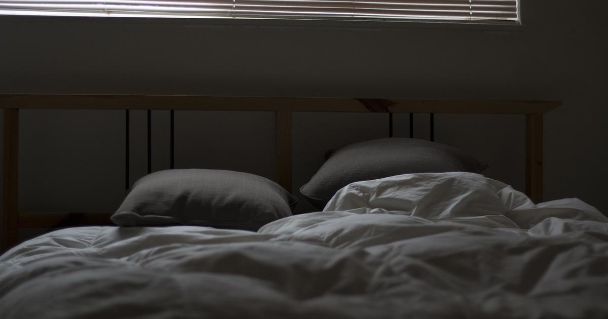 кровать, постель, сон