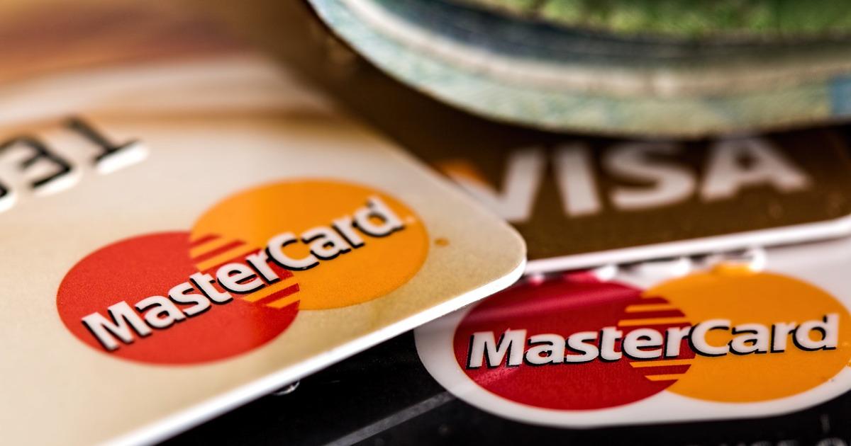 пластиковые карты, MasterCard, Visa