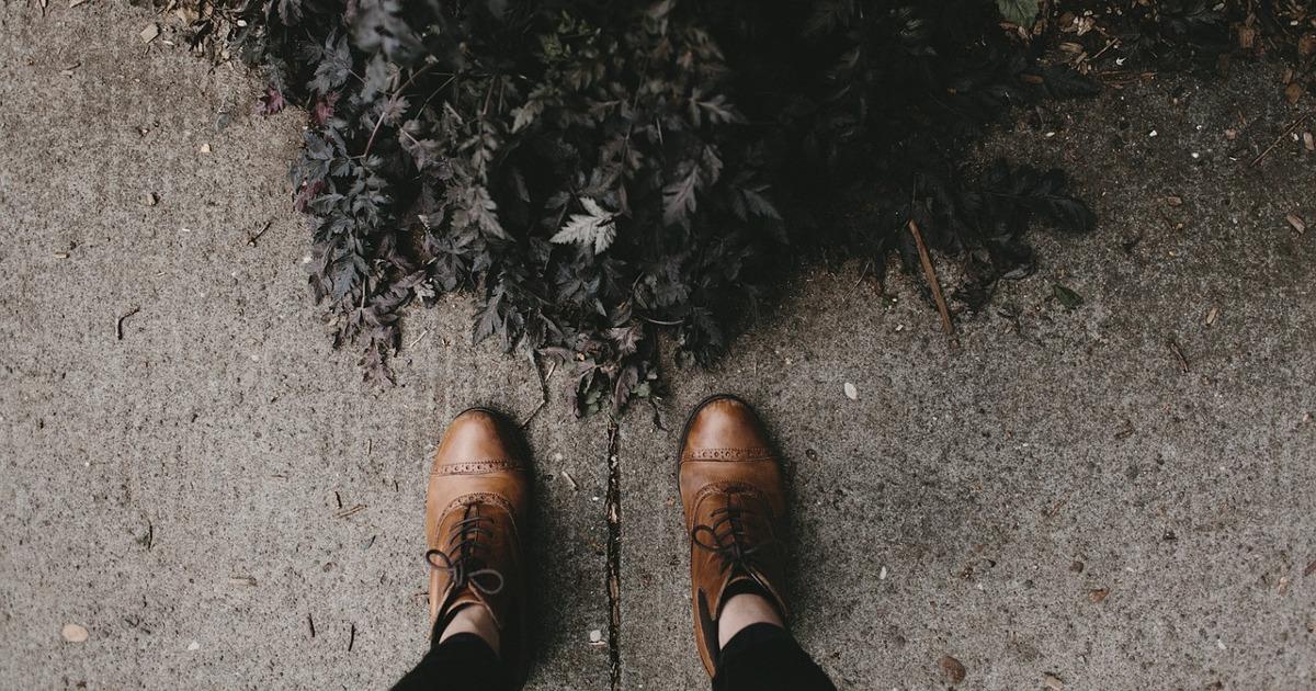 обувь, асфальт