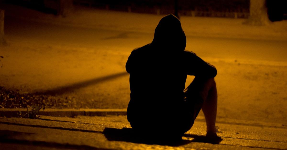 парень, одиночество