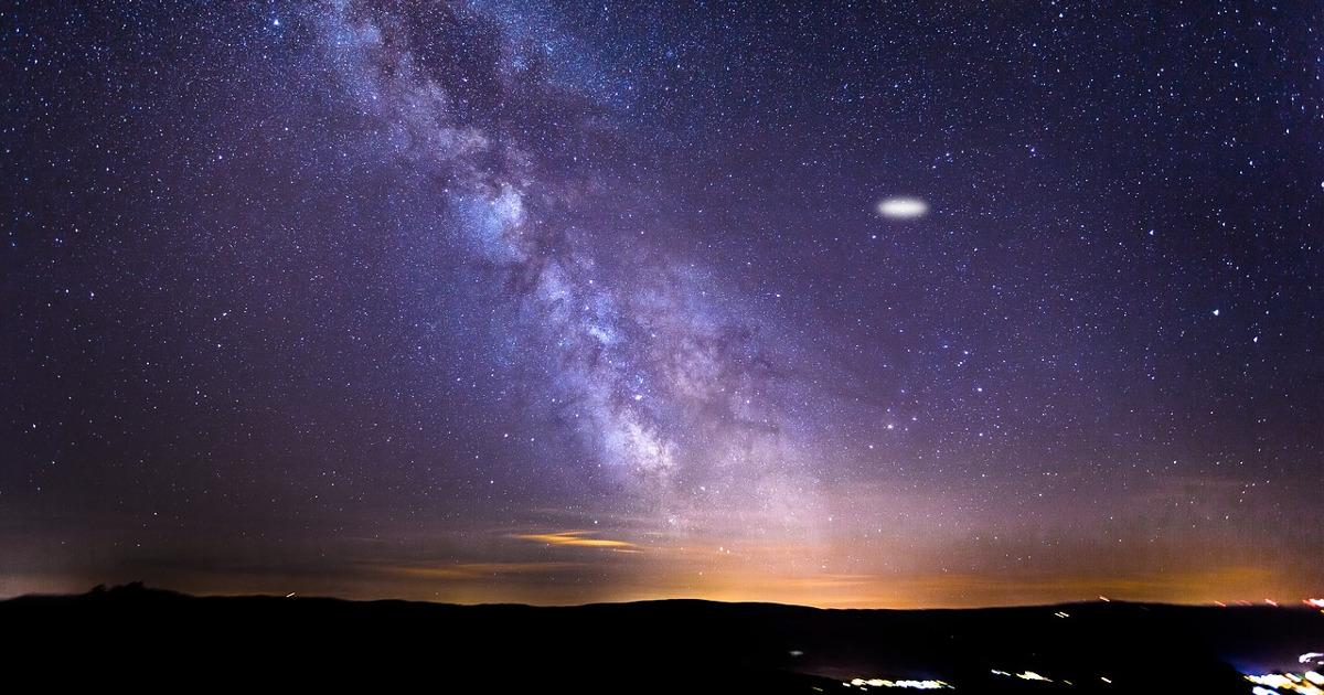 звёздное небо, инопланетяне