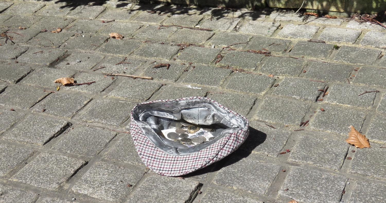 шляпа для подаяния