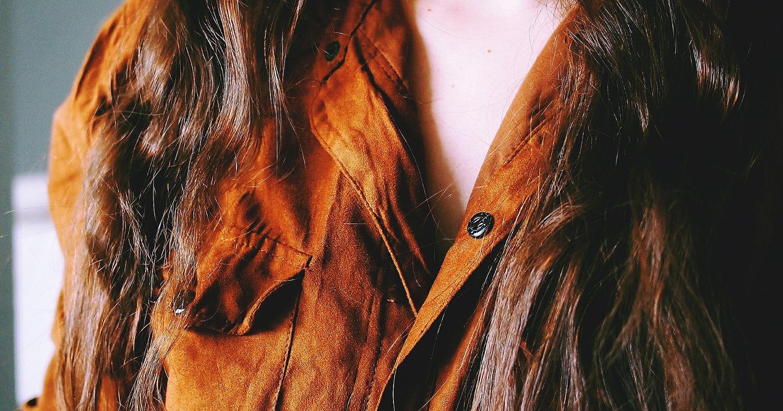 Девушка в рубашке