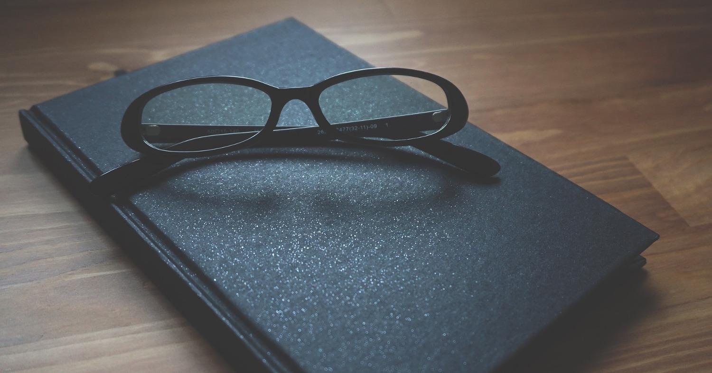 Блокнот с очками