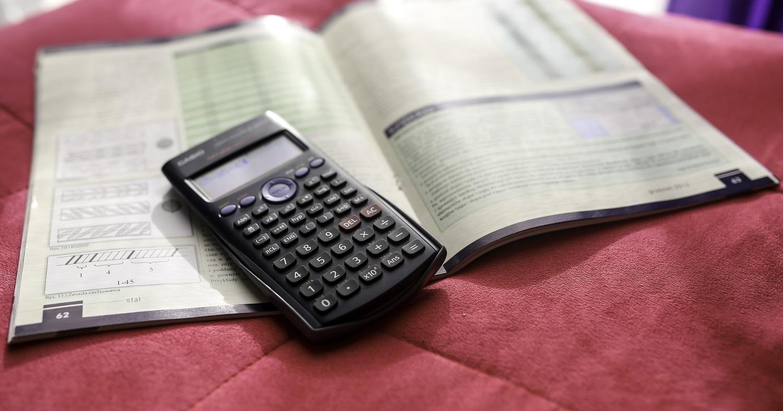 Калькулятор с тетрадью