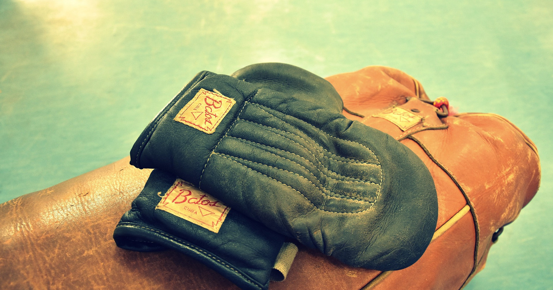 Раритетные перчатки для боя