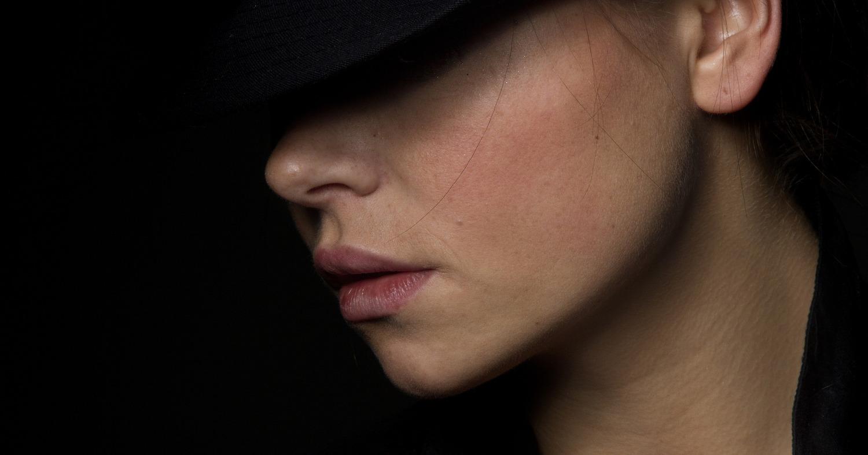 Девушка в чёрном