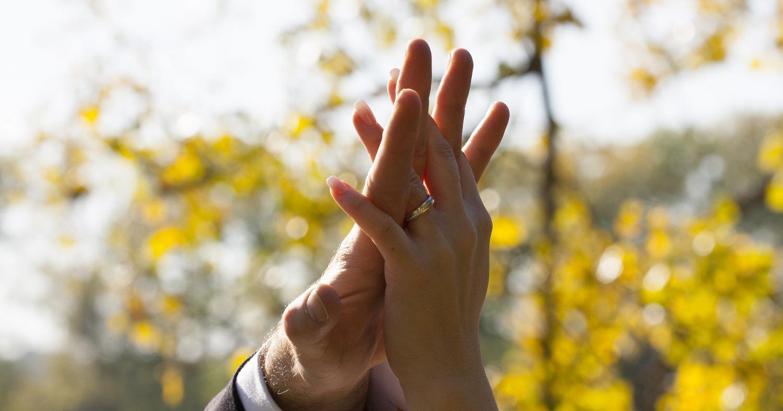 кольцо, свадьба, руки