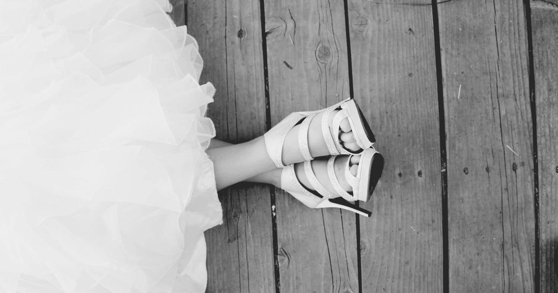 Невеста в обуви