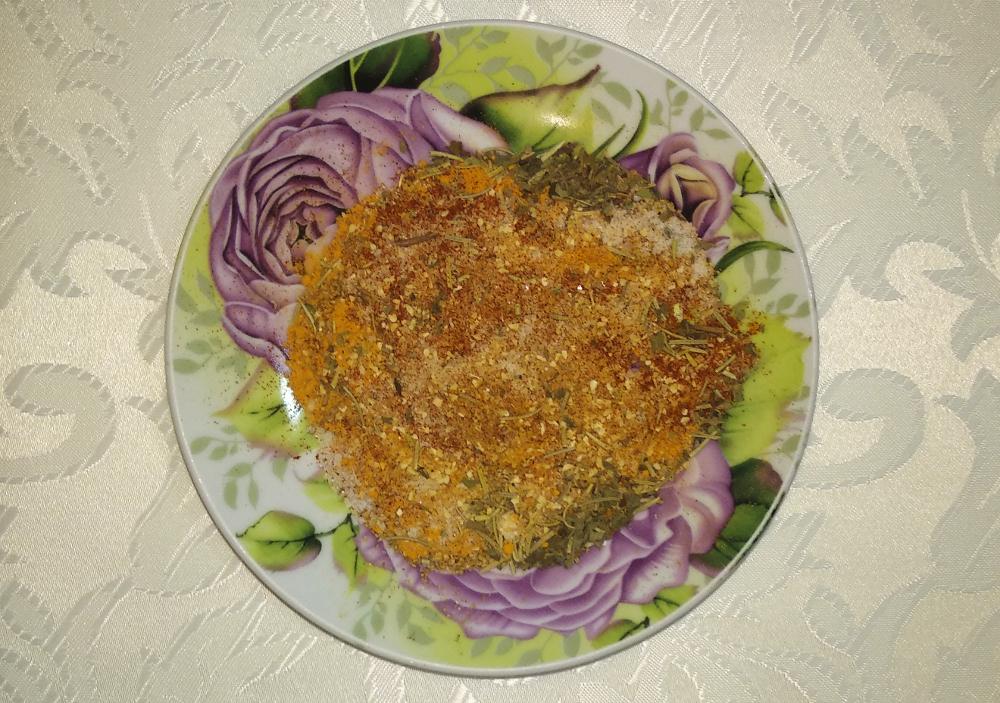 Пошаговый рецепт приготовления пряной курочки