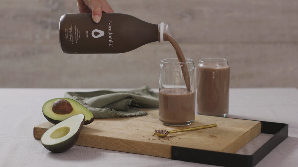 Шоколадное авокадомолоко
