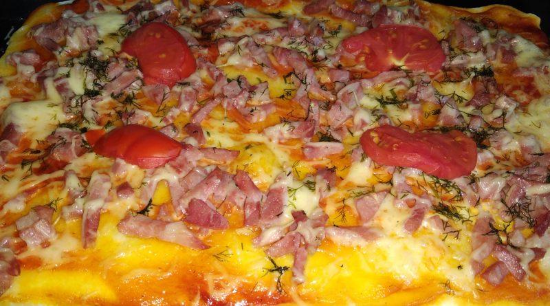 Рецепт пиццы на рисовой муке